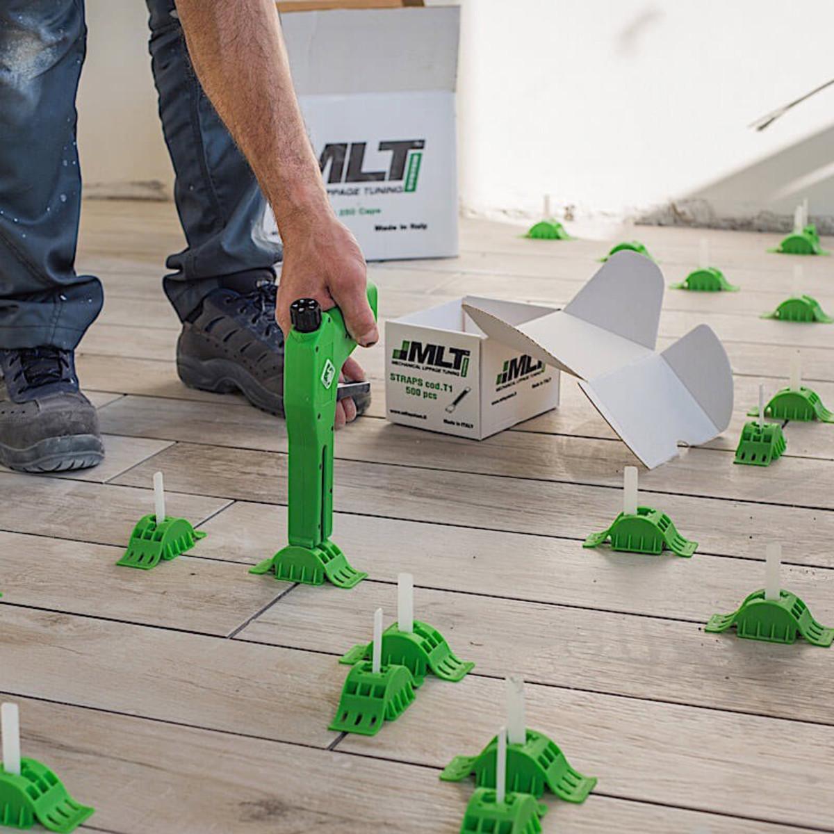 MLT gun wood plank floor tile