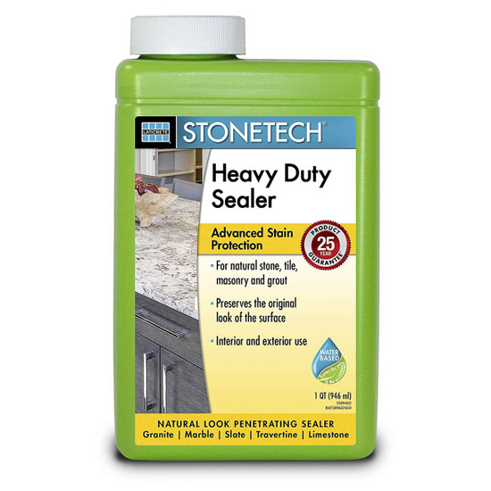 StoneTech Heavy Duty Natural Stone Sealer - 1 Quart