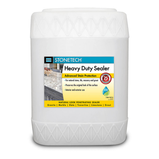 StoneTech Heavy Duty Natural Stone Sealer - 5 Gallon