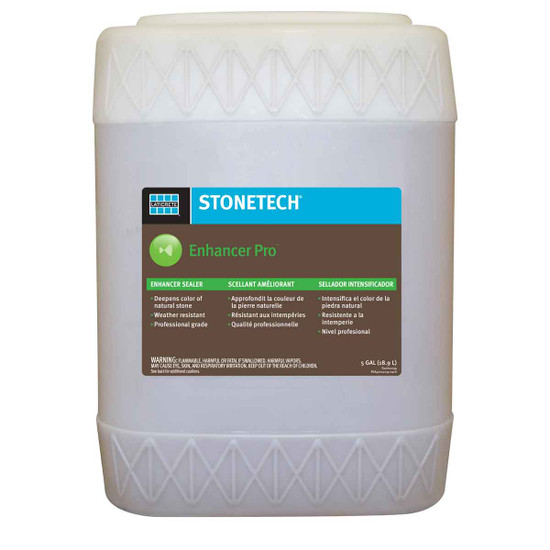 StoneTech Solvent-Based Enhancer Pro - 5 Gallon
