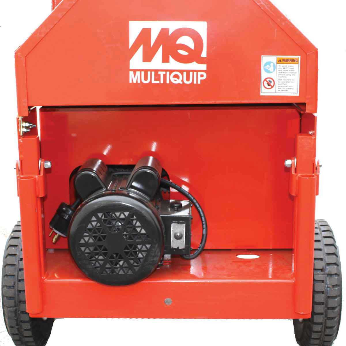 Multiquip Mortar Mixer transport
