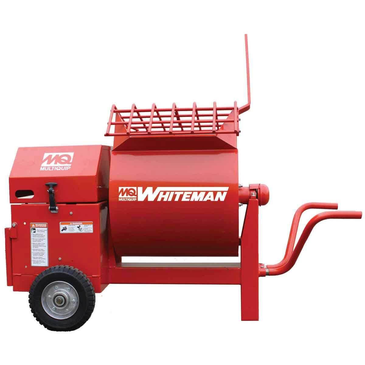 Multiquip Mortar Mixer side view