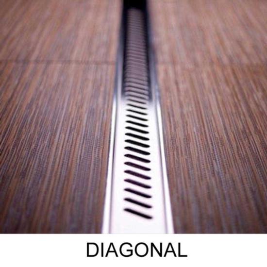 Quick Drain Diagonal Strainer