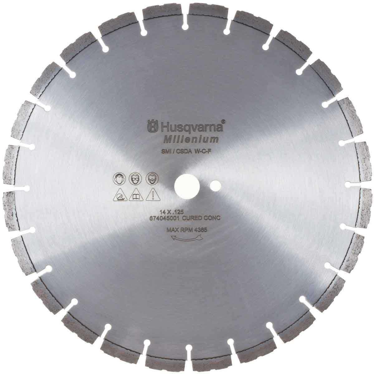 Husqvarna Millenium F710C Diamond Blades