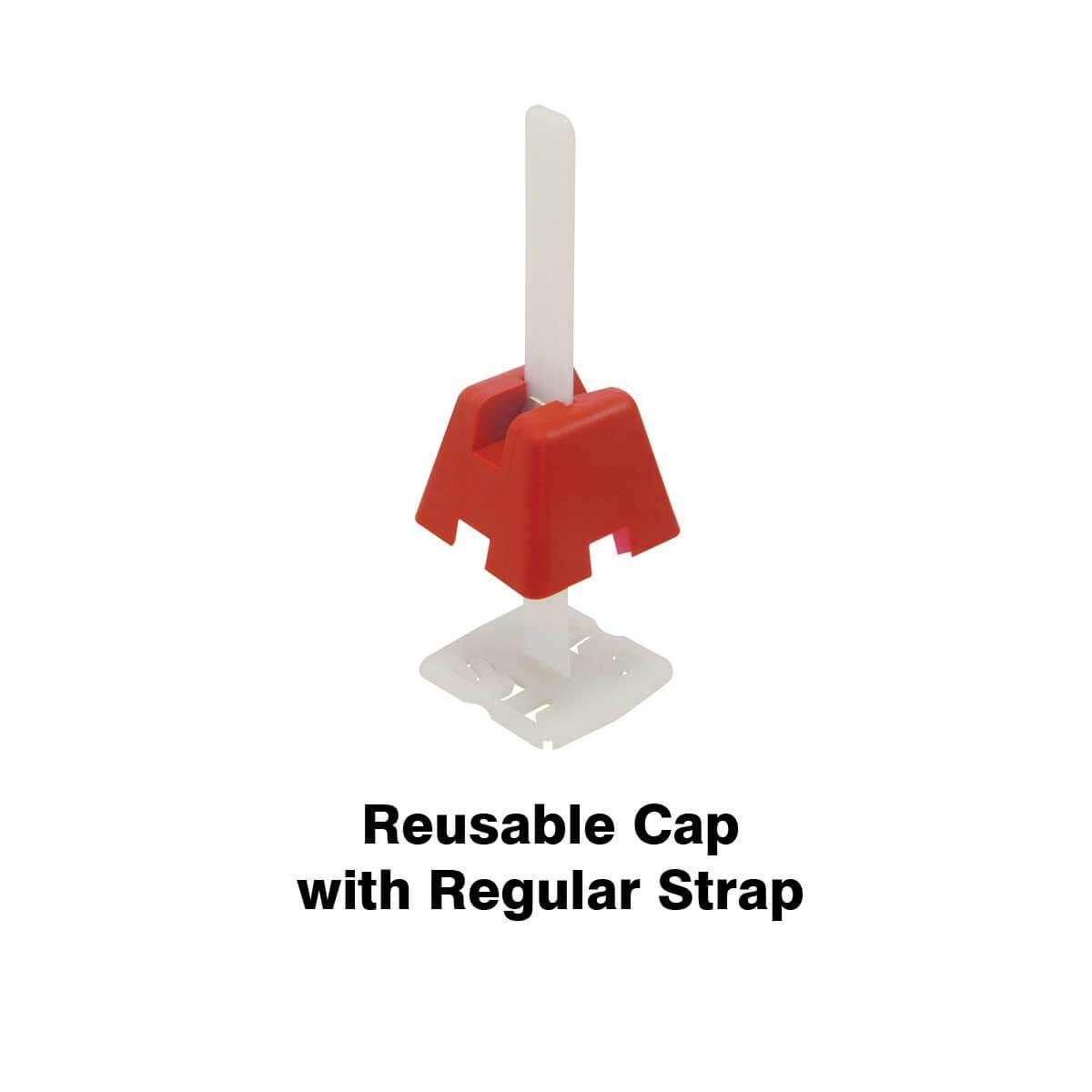 reusable tuscan cap with regular strap