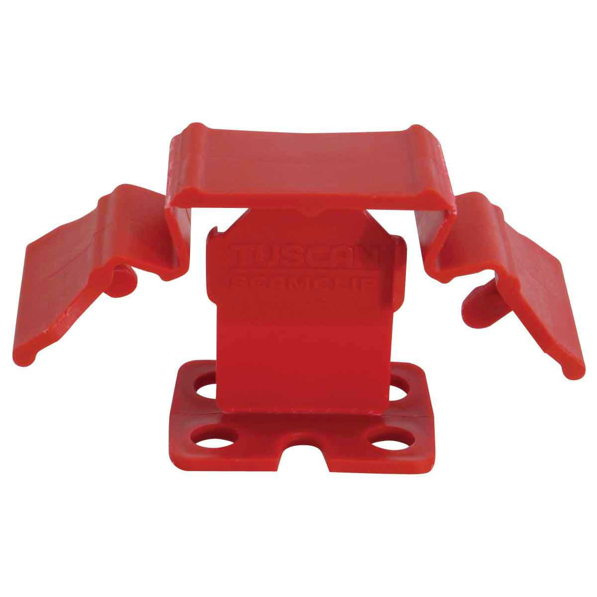 tuscan leveling seam clip red