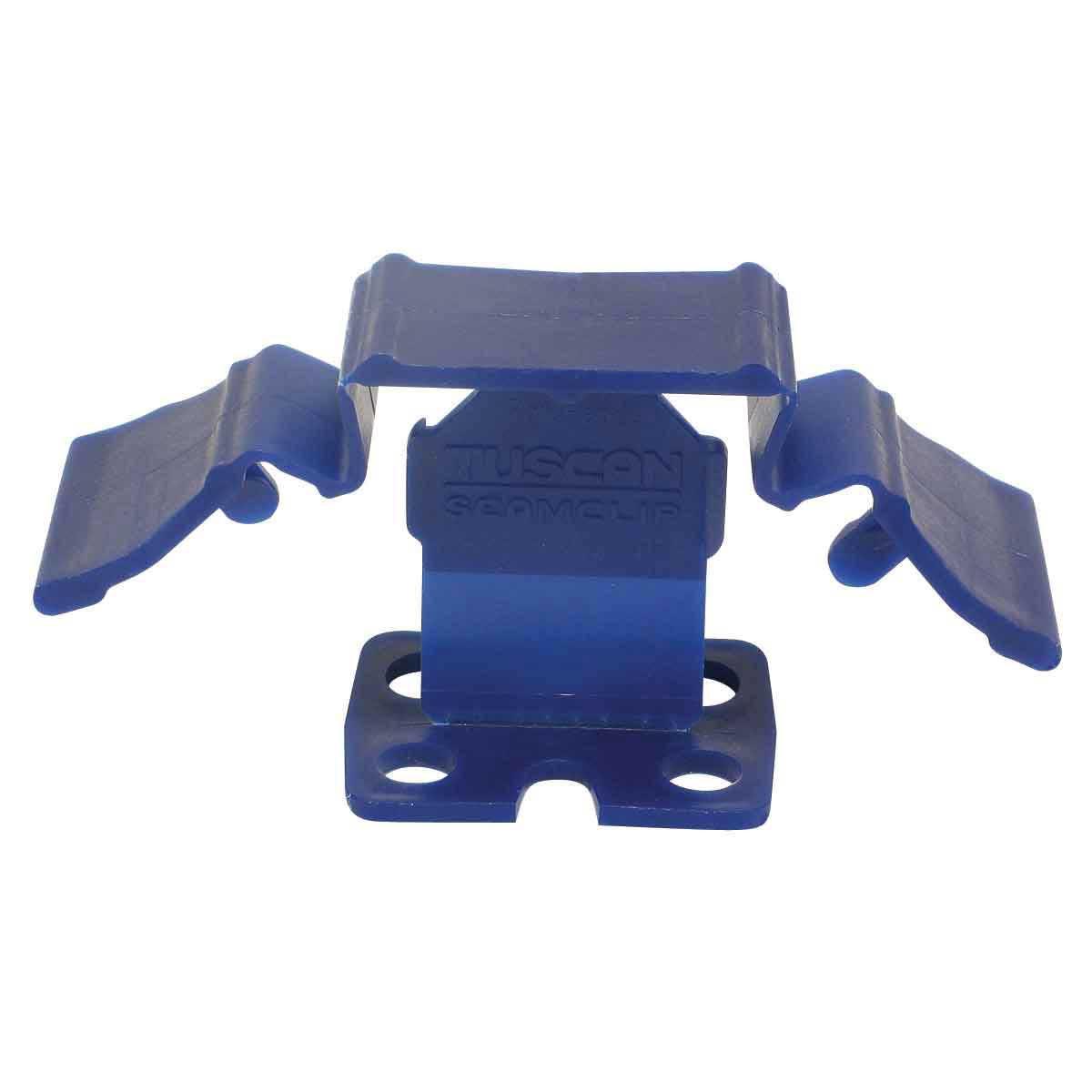 tuscan leveling seam clip blue