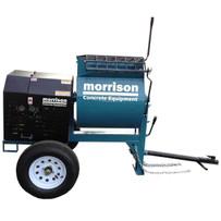 bartell towable gas mortar mixer