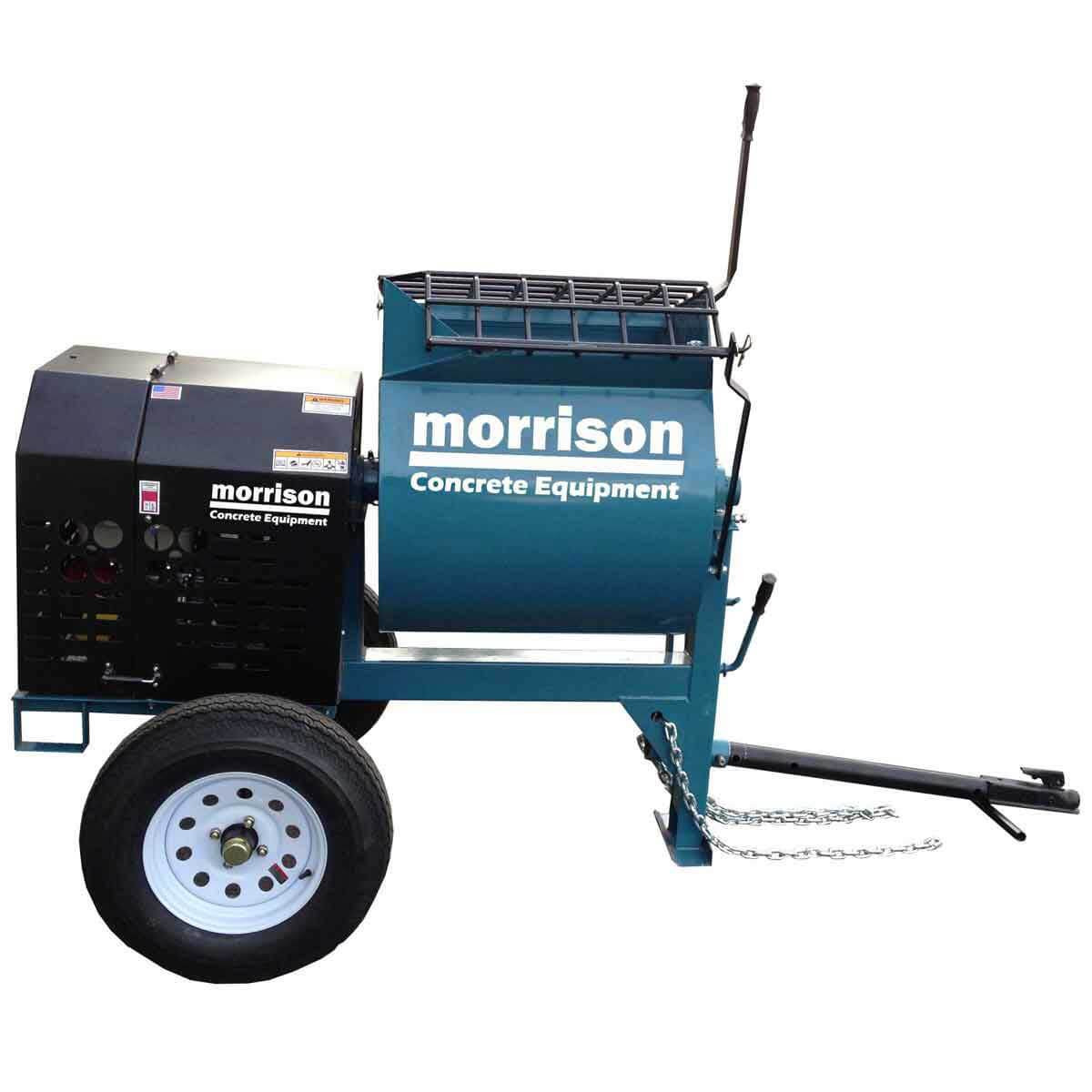 bartell towable gas mortar mixer