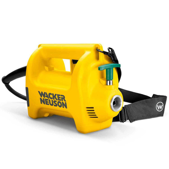 Carrying strap with Wacker concrete vibrator motors