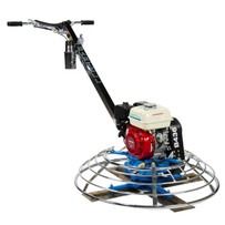 Slow Drive Epoxy Power trowel