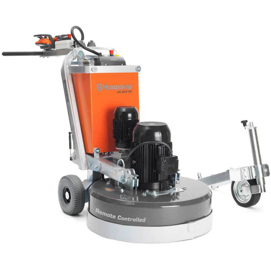 Husqvarna Remote Control PG 820 Concrete Grinder with Guide Wheel