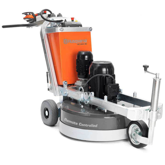 PG 820 Concrete and Surface Grinder with Guide Wheel Attached 967302902