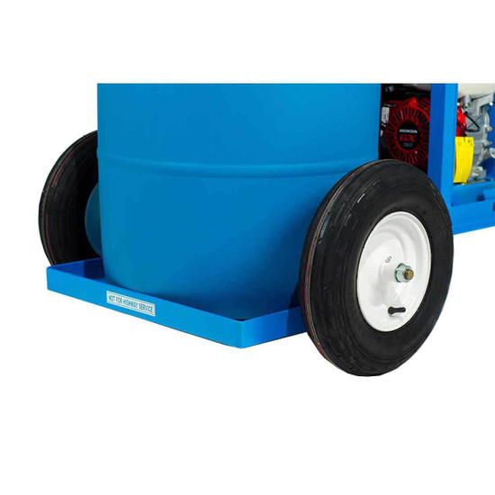 Bartell Power Sprayer with Large Rubber Wheels for Easy Transportation