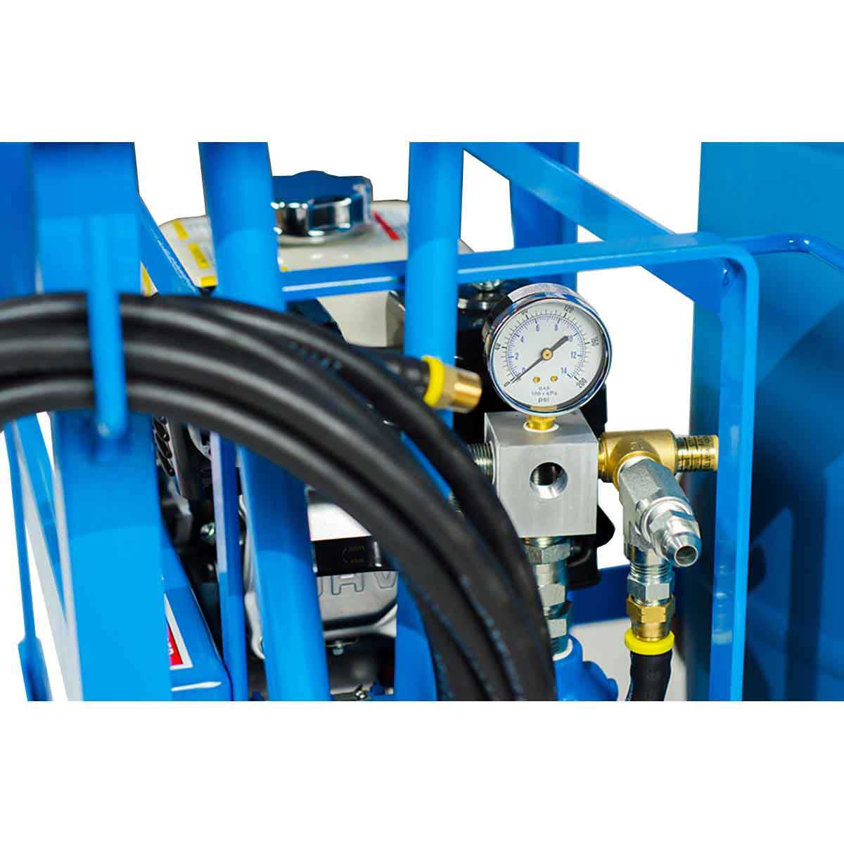 S201 Bartell Power Sprayer gauges