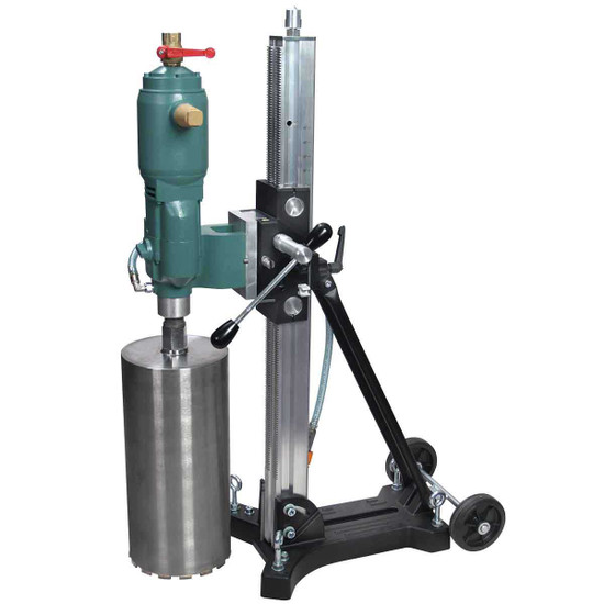 CS Unitec 12 inch Pneumatic Wet Core Drill And Stand
