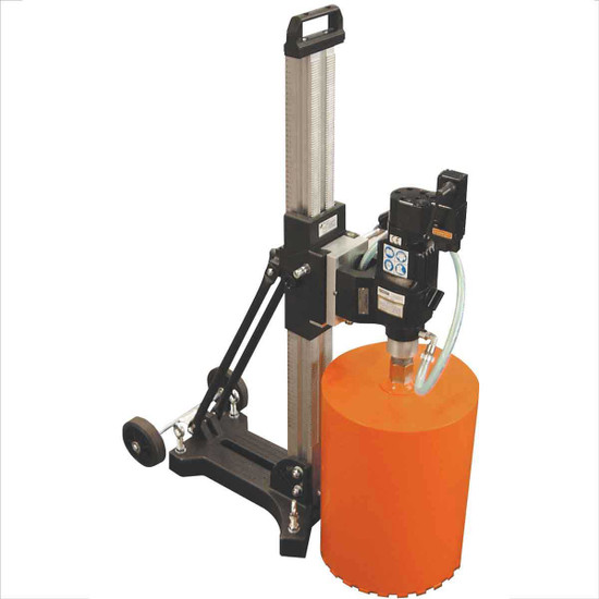CS Unitec 12 inch Hydraulic Wet Core Drill with Stand