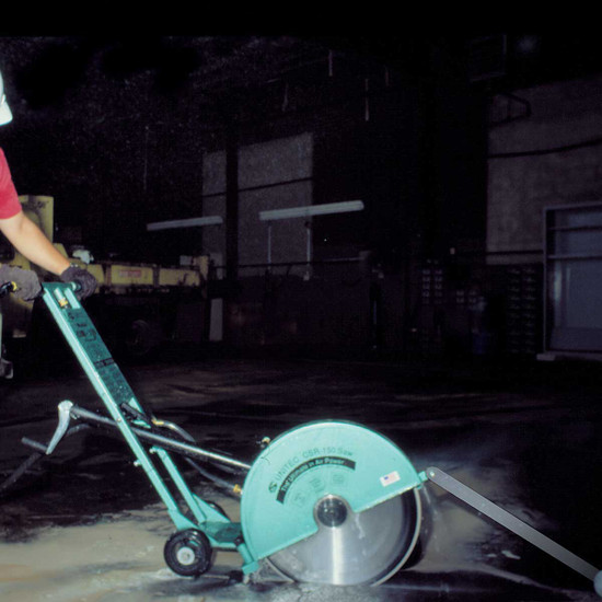 CSR150 20 inch Pneumatic Saw