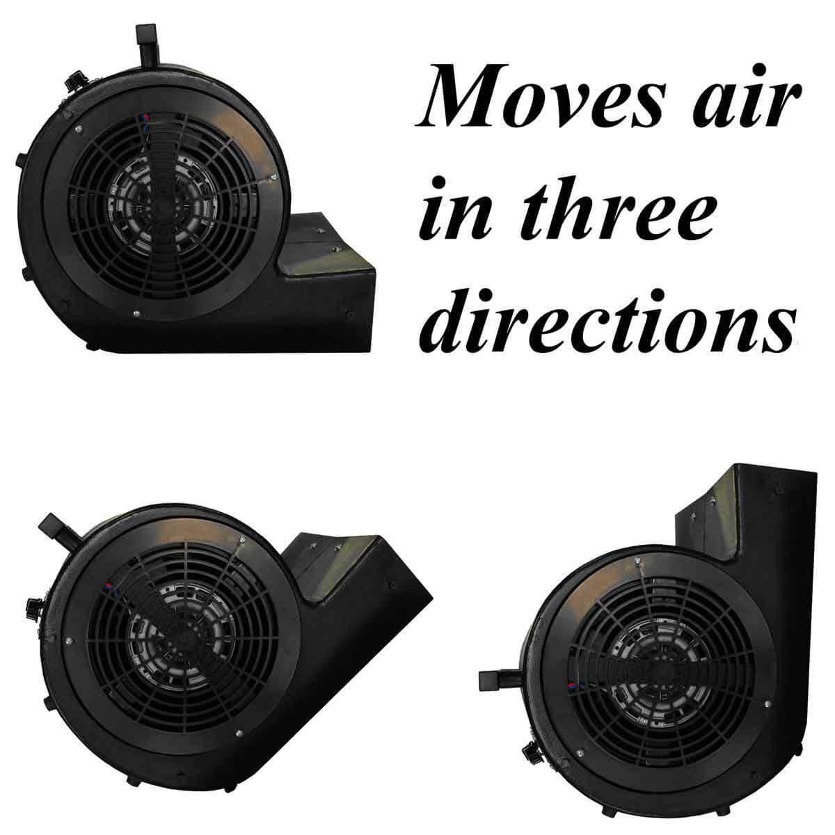 BH001-BLACK Hawk Industrial 3-Speed Black Blower