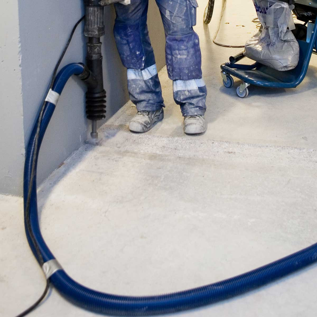 DustControl DC 2900c core drill vac