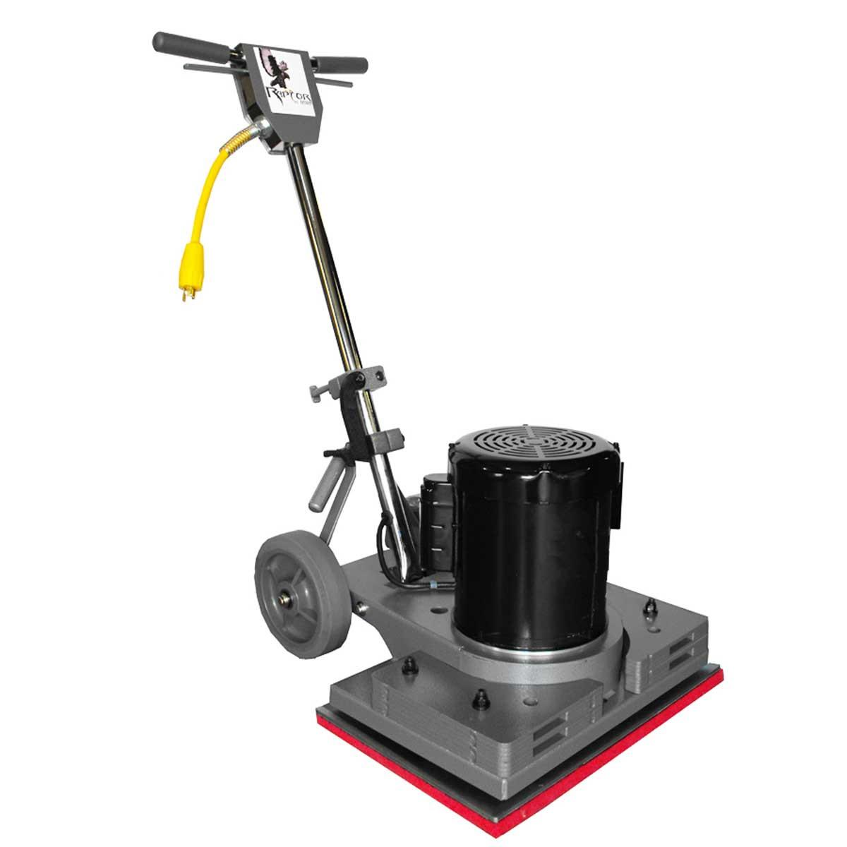 Hawk raptor floor machine contractors direct for 110v floor sander