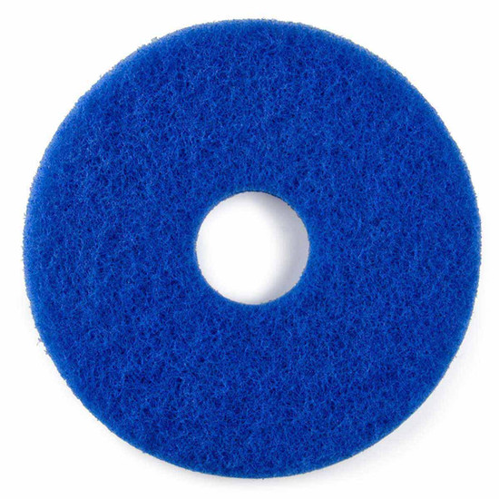 Hawk Blue Scrubbing Floor Pads Box of 5
