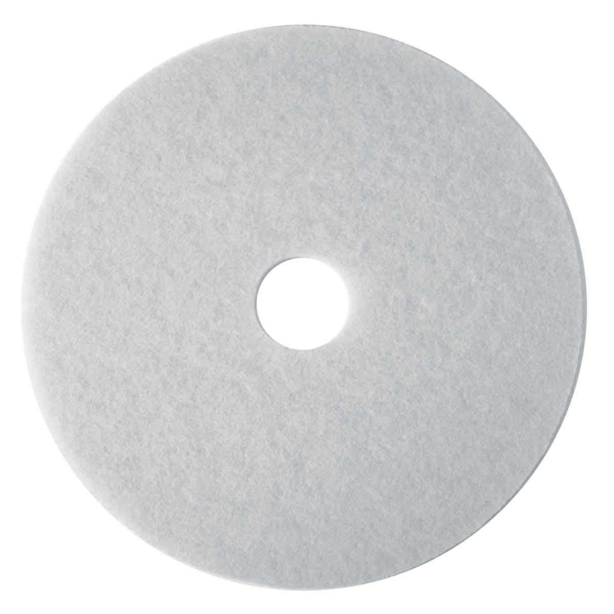 Hawk White Polishing Floor Pads