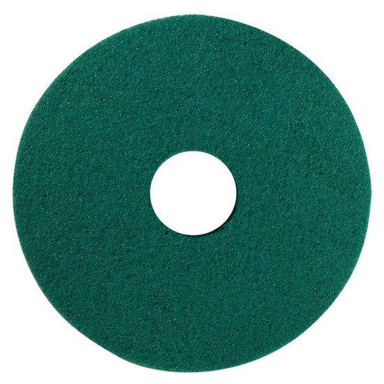 Hawk Green Scrubbing Floor Pads Box of 5