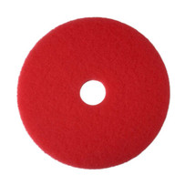 Hawk Red Scrubbing Floor Pads