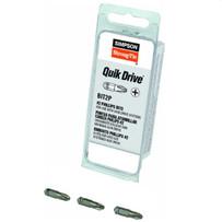 Quik Drive Screwdriver #2 Phillips Bit, 3 Pack