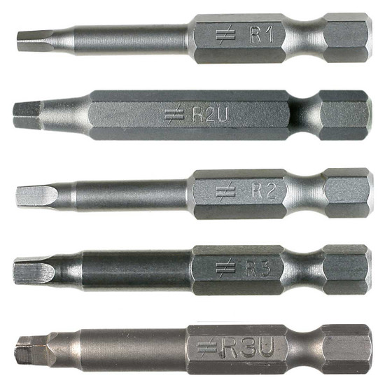 Quik Drive Power Driver Bits group
