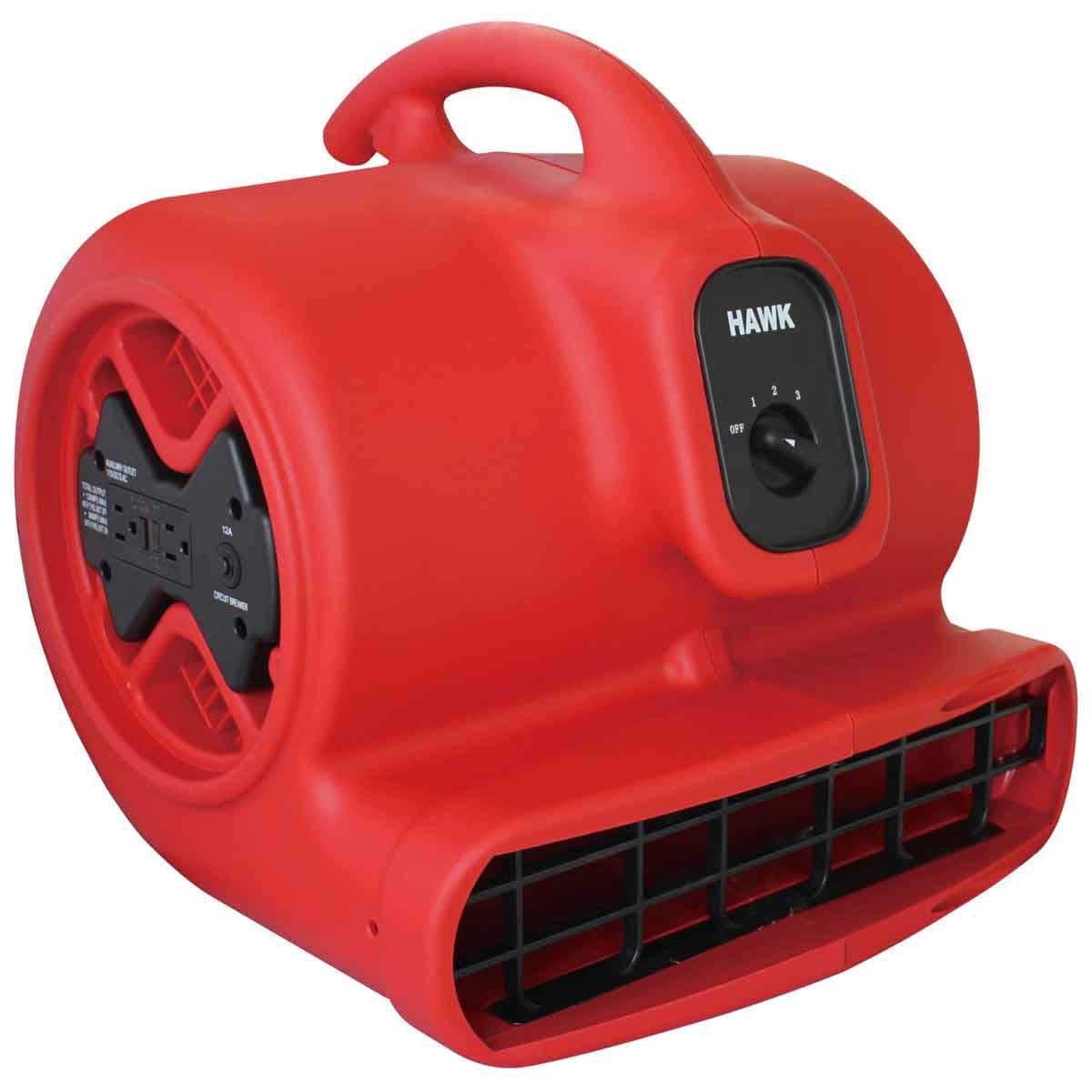 Hawk Air Mover ventilator stack