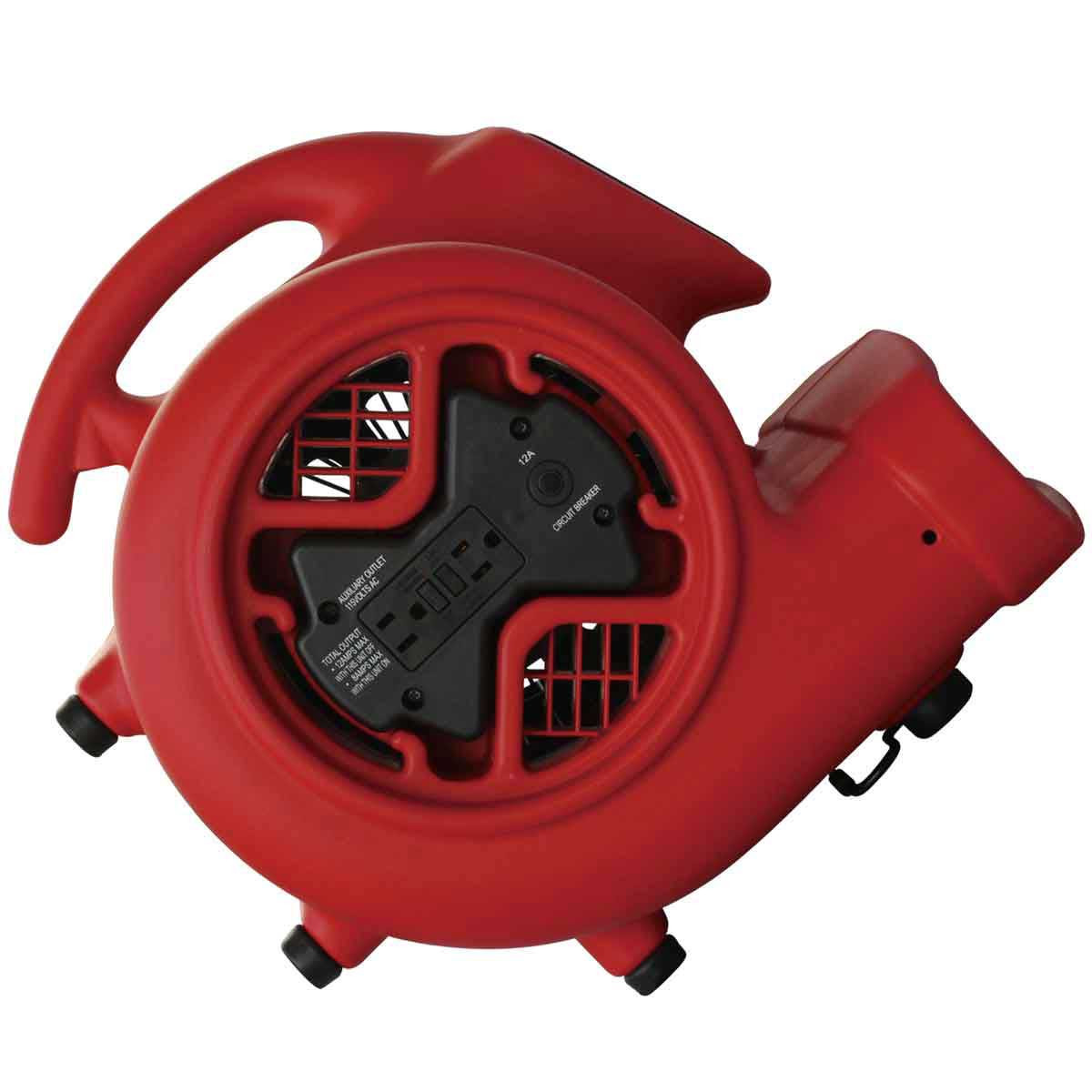Hawk Air Mover ventilator outlet