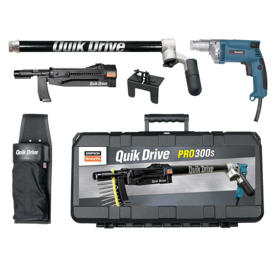 Quik Drive 2,500 RPM Makita Screwgun Kit