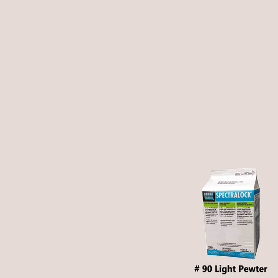 Laticrete SpectraLOCK PRO Epoxy Grout - Light Pewter
