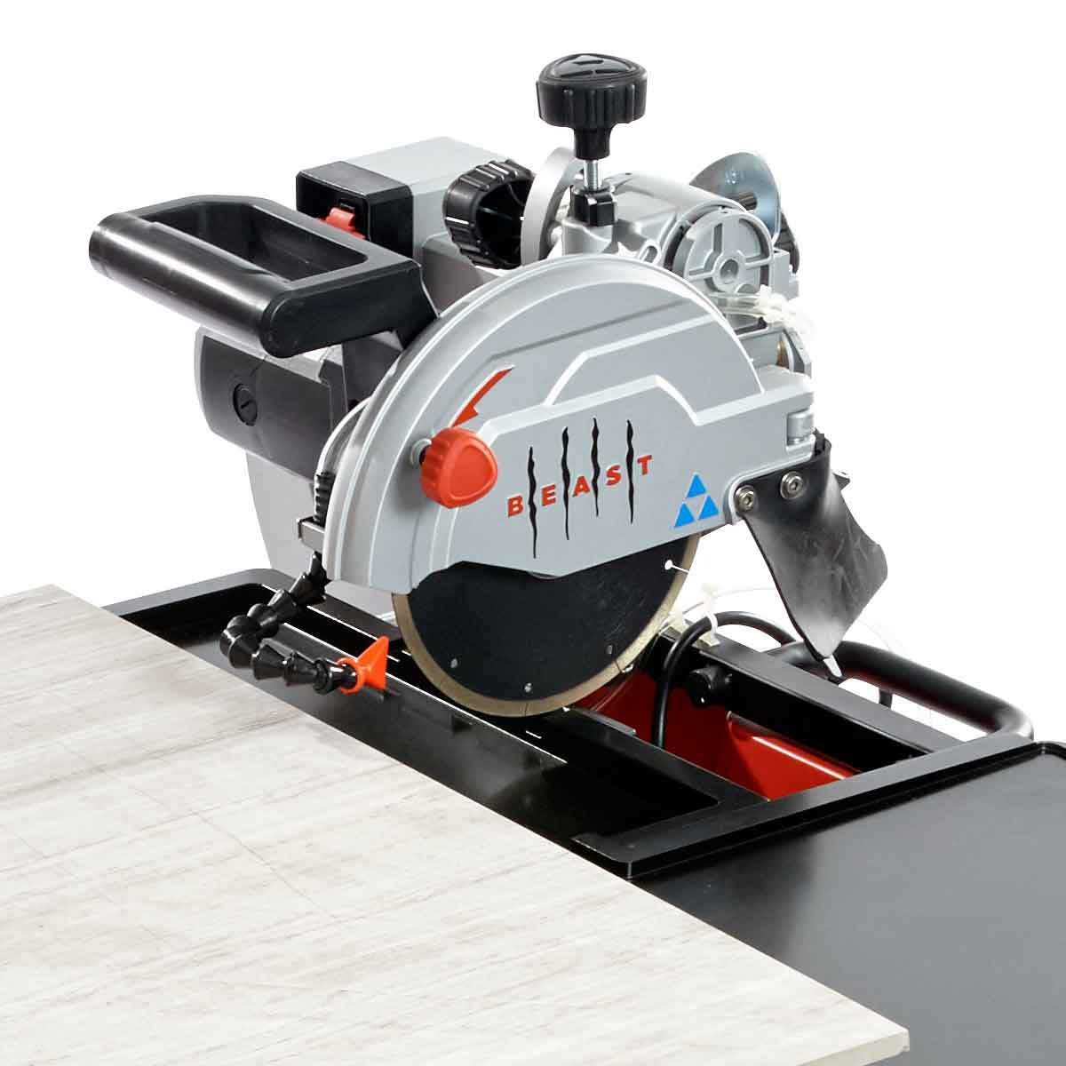 Lackmond Beast 7 tile saw cutting head assembly