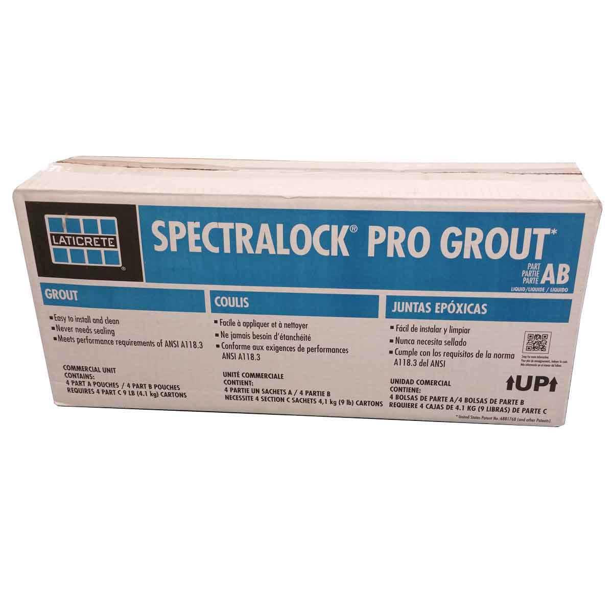 spectralock pro grout AB