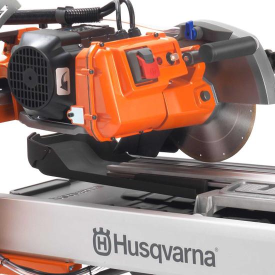 Husqvarna TS70 direct drive motor cutting head