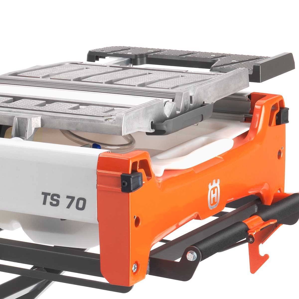 Husqvarna TS70 sliding carriage tray