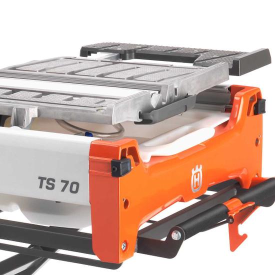 Husqvarna TS70 sliding carriage tray