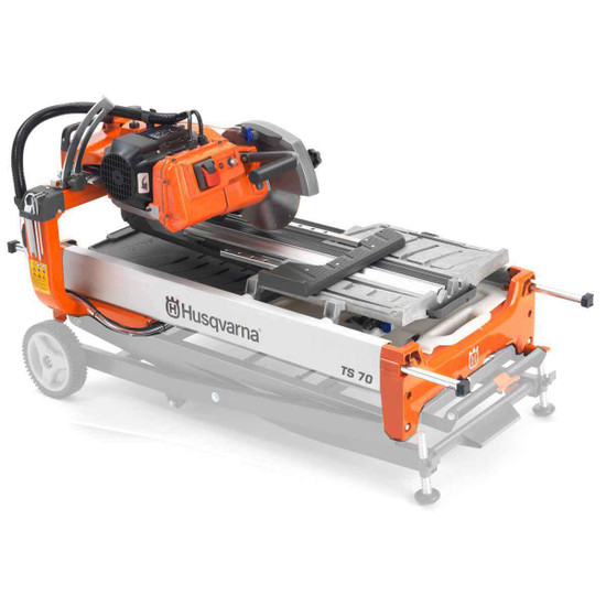 Husqvarna TS70 with optional collapsible stand