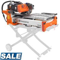 Husqvarna TS 90 Single Voltage Wet Tile Saw On Sale