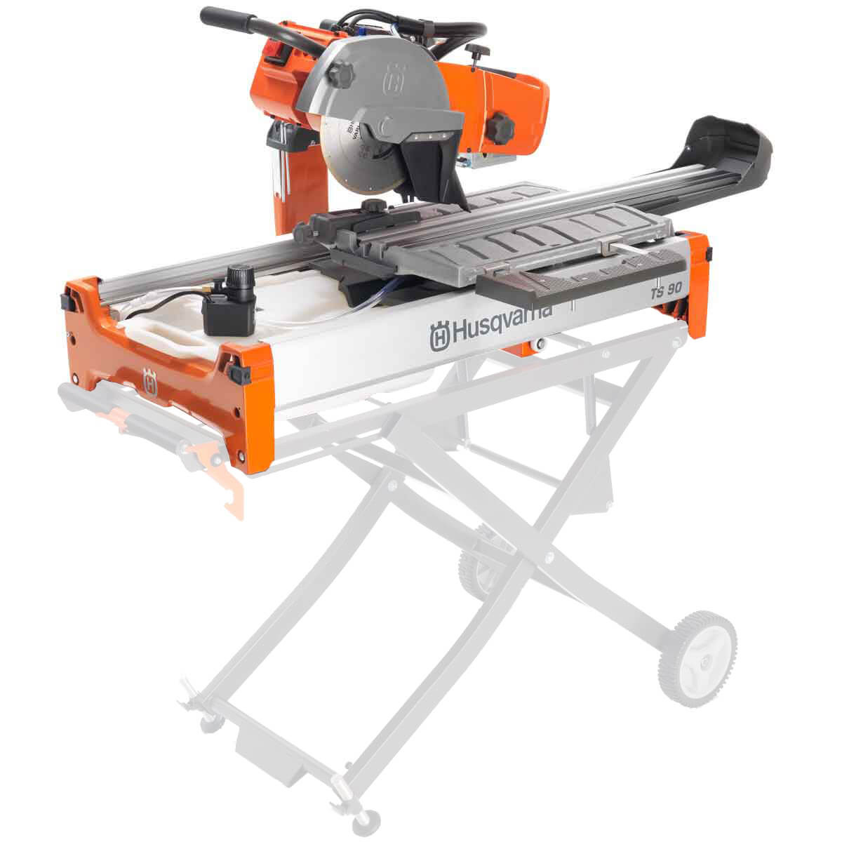 Husqvarna TS 90 Wet Tile Saw 2