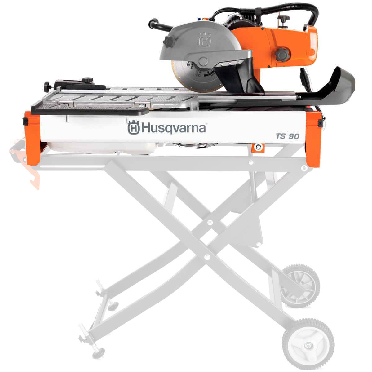 husqvarna ts90 tile saw side view 2