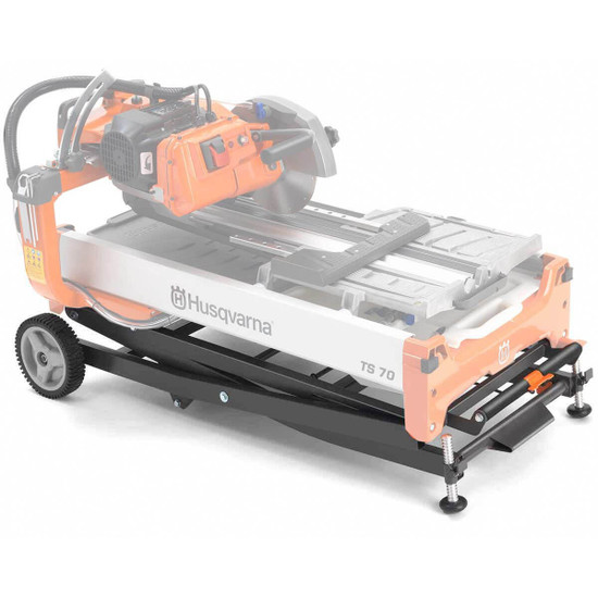 Husqvarna Rolling Stand and Saw