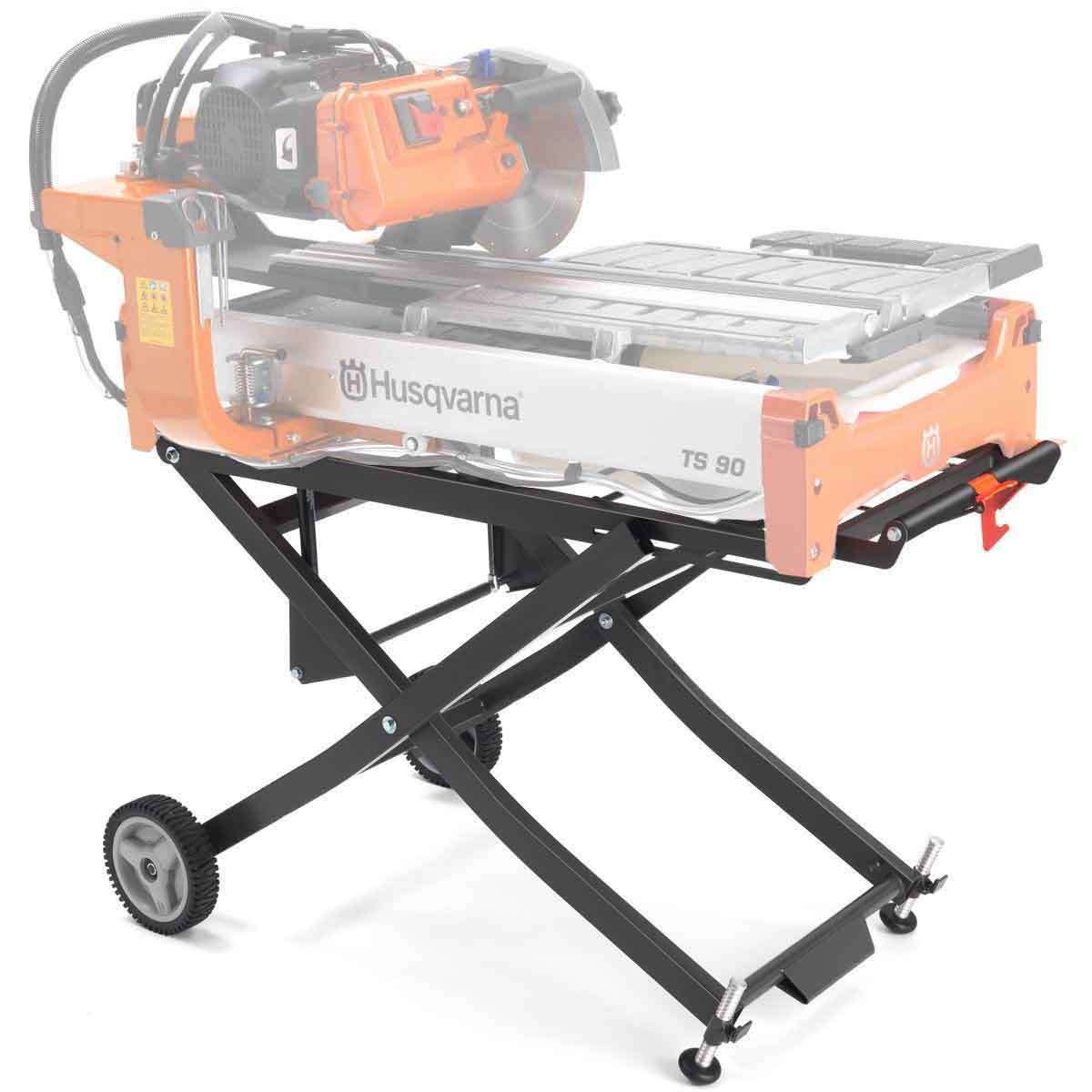 Husqvarna folding scissor stand for tile saws