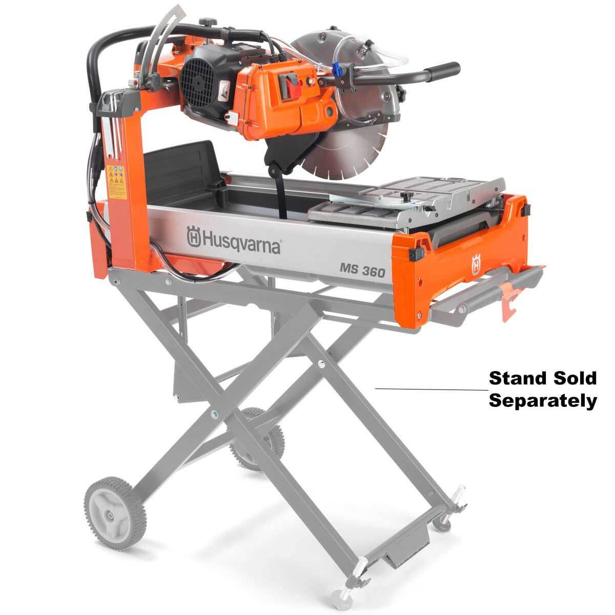 husqvarna ms 360 14in masonry brick block saw