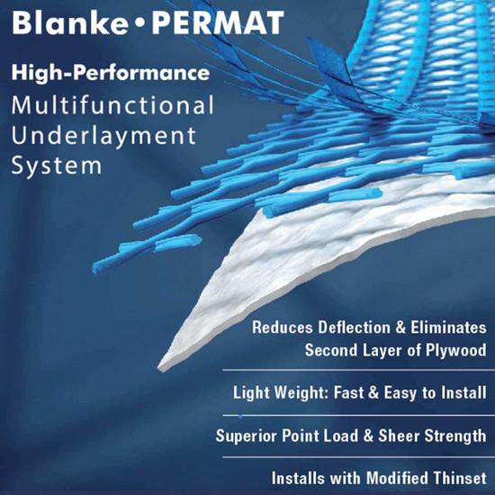 Blanke Permat Underlayment Features