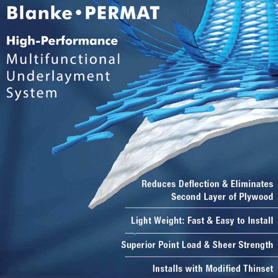 Blanke Permat Underlayment