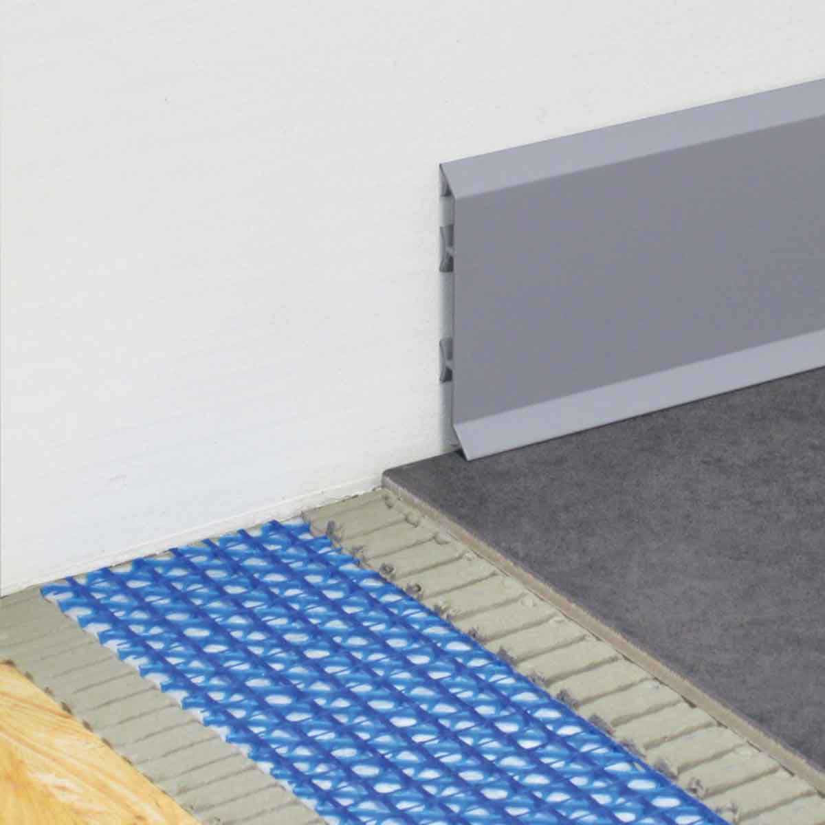 Blanke Permat with Tile and Wall Trims